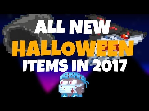 ALL NEW HALLOWEEN ITEMS 2017 GROWTOPIA & Info About The Items and How To Get It!   Growtopia