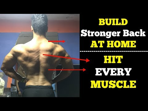Back Workout At Home | Complete Home Workout Routine