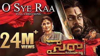 O Sye Raa Full Video Song (Telugu) - Chiranjeevi | Ram Charan | Amit Trivedi | Surender Reddy