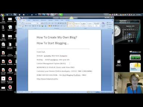 How Do I Create My Own Blog? How To Start Blogging