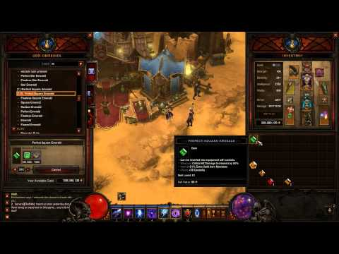 Diablo 3 Gold Guide - How I Made Billions of Gold With Crafting Gems