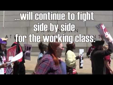 March to Defend Unemployment Benefits in GA