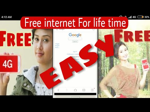 How to get free internet for lifetime Any sim card - No Data Charged