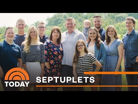 First Set Of Septuplets Turn 18: Catching Up With The McCaughey Family   TODAY