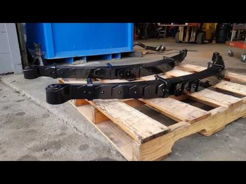 Dodge Ram 3500 2500 Softride Rear Leaf Springs 1in Lift - Super Smooth