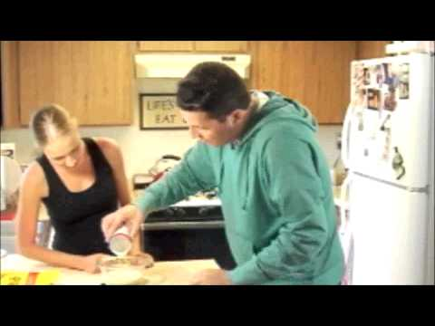 Smore Bread Pudding with Peanut Butter (ruff-cut)