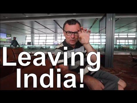 New Delhi International Airport India international flight Kathmandu Nepal Leaving India Video Vlog