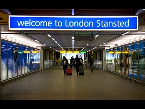 London stansted airport train