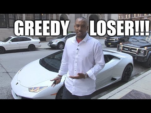 Does Owning a Lamborghini Make You a Greedy Money Hungry Loser?