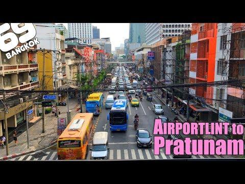 Go to Pratunam by using Airport Rail  Link