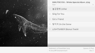 [Full Album] EXO - SING FOR YOU - Winter Special Album, 2015 (Korean Version)