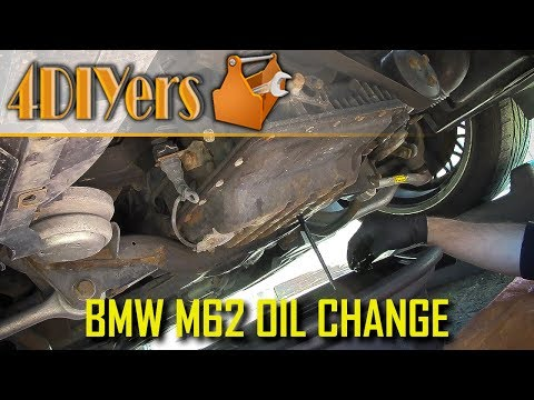 DIY: BMW M62 Engine Oil Replacement