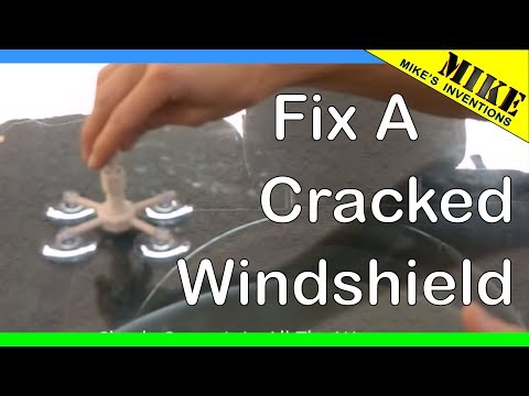 How to Repair a Cracked Windshield with Rain-X Repair Kit