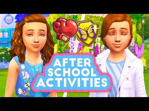 AFTER SCHOOL ACTIVITIES MOD UPDATE! // MORE ACTIVITIES, LEARN SKILLS, HOMEWORK BOOST | THE SIMS 4