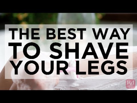 The best way to shave your legs