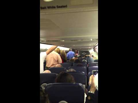 Southwest airline angry drunk passenger. from Houston to San Antonio Tx flight 8-6-14