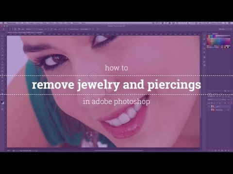 How to Remove Jewelry in Adobe Photoshop