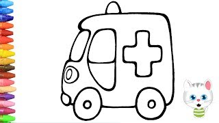 Ambulans Boyama Sayfasi Video Klip Mp4 Mp3