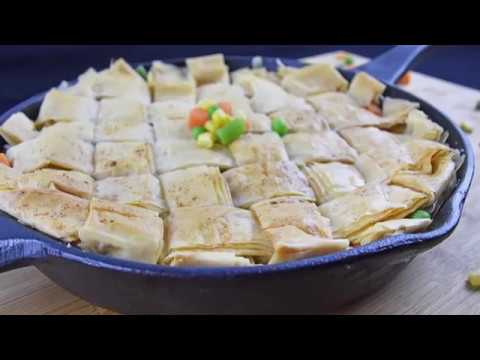 Athens Phyllo Chicken Pot Pie