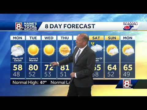 A look at your Memorial Day holiday forecast