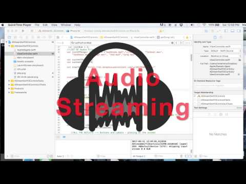 Xcode: Dynamic Audio Streaming