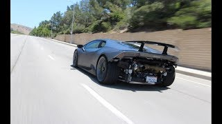 Twin Turbo Lamborghini Huracan Performante! Underground Racing