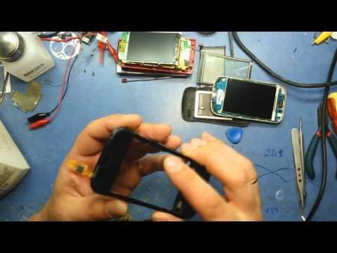 Замена тачскрина на Samsung GT-S6500 (Galaxy 2 mini)