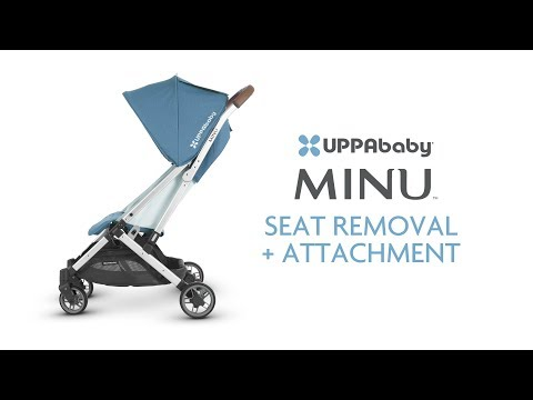 UPPAbaby MINU - Seat Removal + Attachment