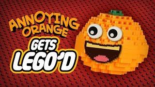 Annoying Orange Gets LEGO