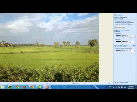 Microsoft Office Picture Manager and Edit Photo