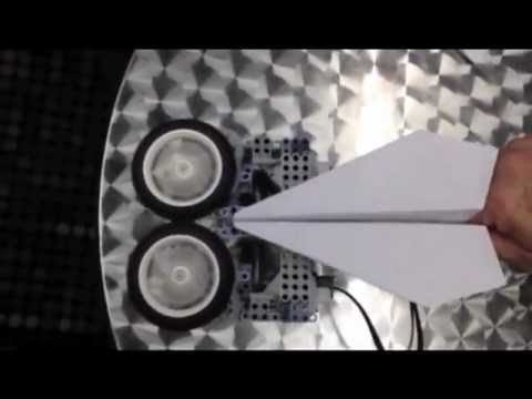 NXT Paper Airplane Launcher