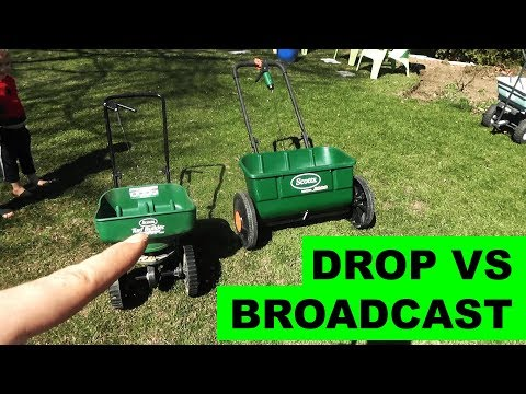 Broadcast Spreader vs Drop Spreader - Which is Better?
