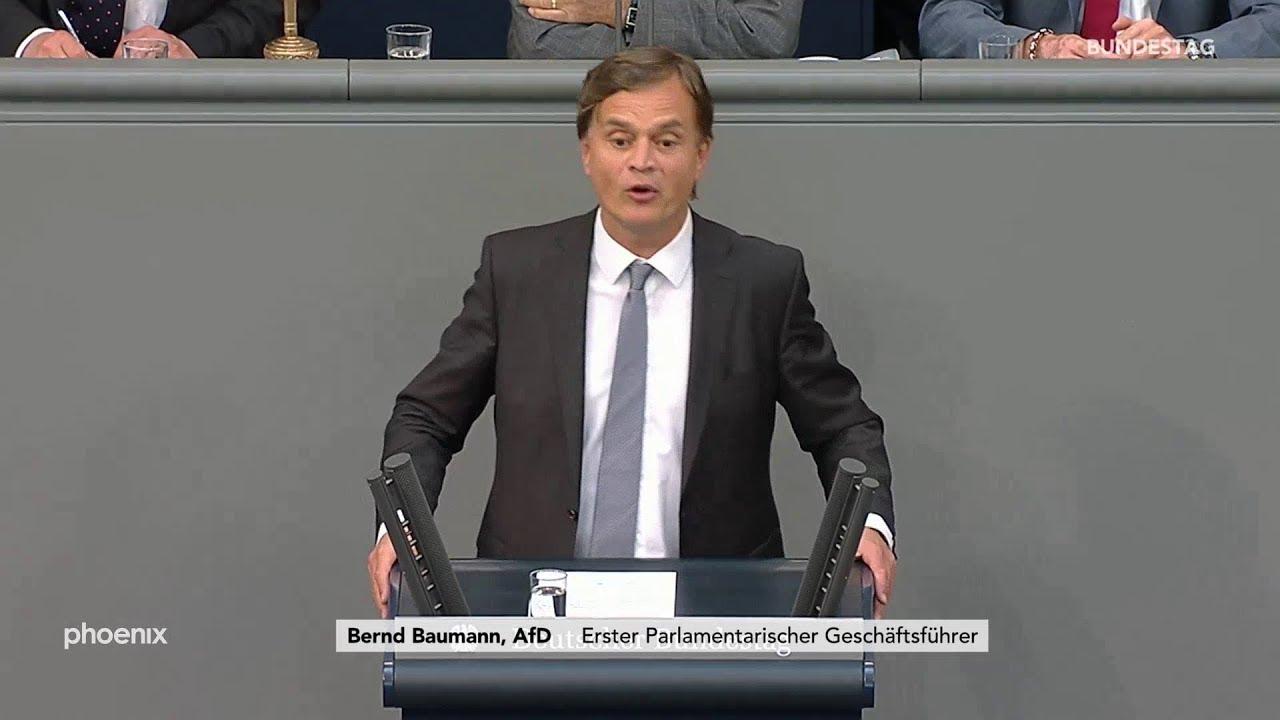 Bundestagsdebatte zum  Asylrecht, Rede von Bernd Baumann (AfD) am 07.06.19