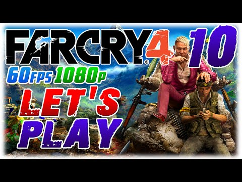 Far Cry 4 Let's Play #10 in 60fps 1080p; OUTPOST NINJA (1080p60 Far Cry 4 PC Playthrough #10)