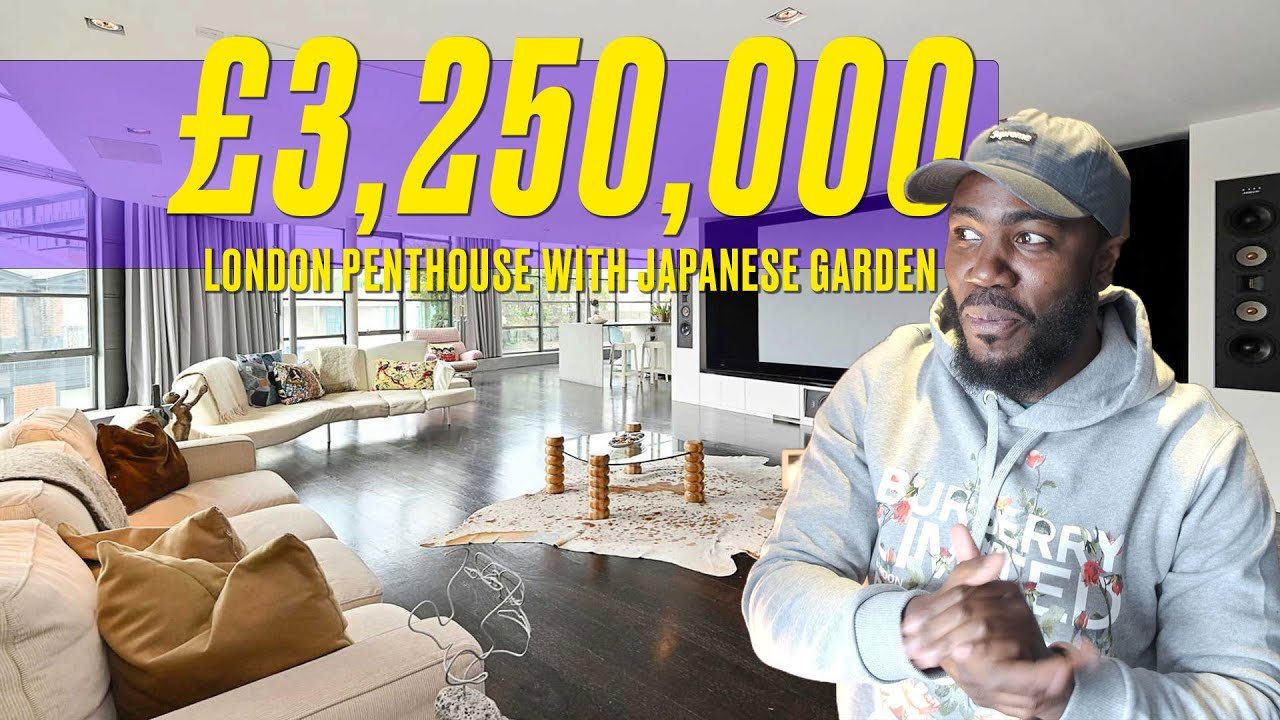 Inside a £3.2 Million London Penthouse with a Japanese Garden with Mo Gilligan