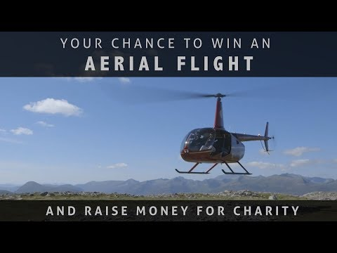 Win an Aerial Flight and Help Raise Money for Charity