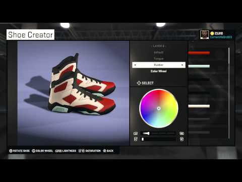 d4ef4fe50b86 How do you create shoes in nba 2k15 -