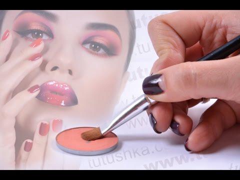 Online makeup school.  www.tutushka.com
