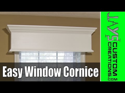 Easy DIY Window Cornice - 177