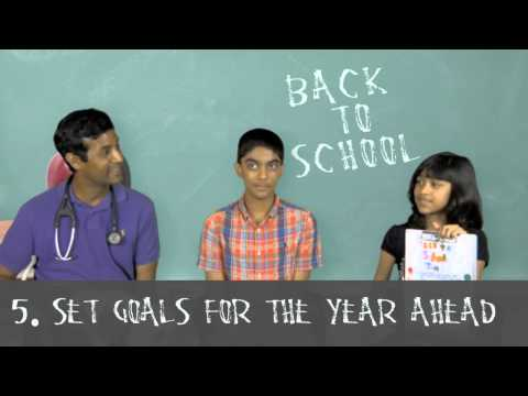 5 Back to School Tips to Stay Healthy without getting Sick!