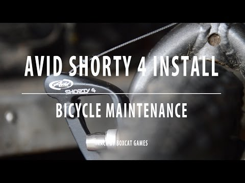 Avid Shorty 4 Install - Cantilever Brake Upgrade - Bicycle Maintenance