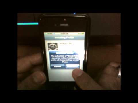 Straight Talk Micro Sim set APN in AT&T iPhone 4S NO JAIL BREAK
