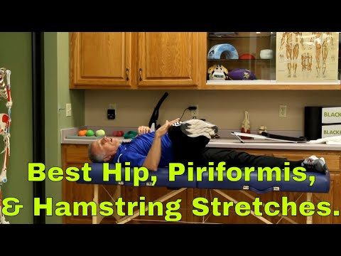 BEST Hip, Piriformis & Hamstring Stretches, Increase Flexibility To Stop Pain