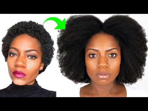 1 Year Natural Hair Journey (Apr 2017 - Apr 2018) INCLUDES Relaxed and Transitioning Journeys