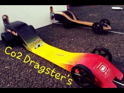 CRAZY FAST - GHS Co2 Powered Dragster's, Design's and Races
