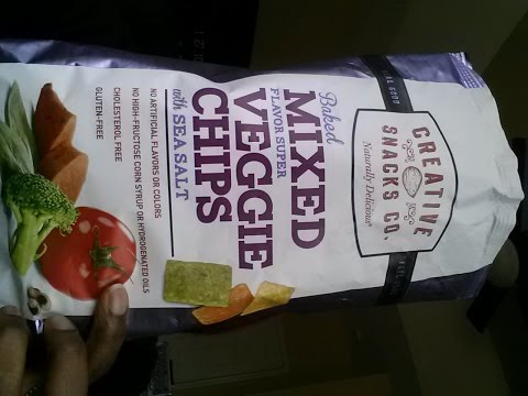 Baked Mixed Veggie Chips