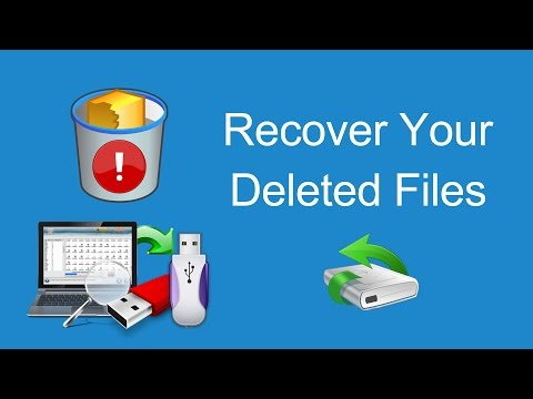 How To Recover Deleted Files From Formatted Pen Drive / Hard Drive / Memory Card (SD Card) Easily