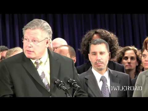 State Senator Tom Duane Remarks at Reintroduction of Marriage Equality Legislation in New York