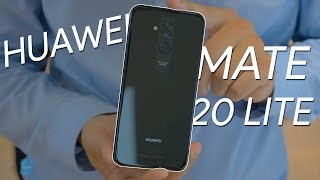 Huawei Mate 20 lite preview: class, style and fun, but a few compromises too