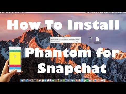 How to Install Phantom Snapchat Hacks on iOS 10-10.3.2 Without a Jailbreak
